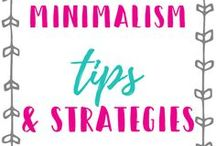 Minimalism / Embracing Minimalism, living a Minimalistic life, simple living, frugal living