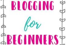 Blogging for Beginners / Looking to start a blog? This is a board with the best blogging tips for beginners.