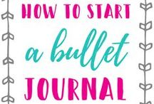 How to Start a Bullet Journal / bullet journal