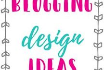 Blogging Design Ideas / Tips about blog design, web design, graphic design