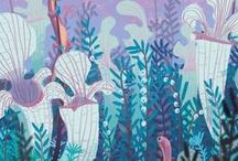 Fish, Sea. Mermaids & Deep sea creatures