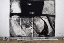 UN DISPARO DE ADVERTENCIA / # Plataformas de creación/difusión. Esta propuesta es una prueba más de que no sólo las grandes ciudades pueden ver sus paredes cubiertas por obras de arte urbano. Un disparo de advertencia, una iniciativa surgida en la ciudad de Lalín, contó con la participación de siete artistas.