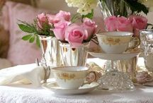 GLORIA'S TEA PARTY DAYDREAMS..... / BEAUTIFUL TEA CUPS...BEAUTIFUL THINGS..... / by Gloria Hanna