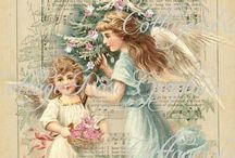 GLORIA 'S  PASTEL CHRISTMAS DREAMS / I'm just a sucker for girlie girl shabby chic christmas stuff!!!!!!!! / by Gloria Hanna