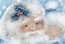 GLORIA 'S DREAMY BLUE HOLIDAY / JUST LOVE A CHRISTMAS WITH ALL THINGS BLUE.... / by Gloria Hanna