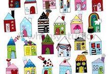 House inspired art...