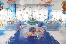 Under the sea/Ariel birthday party ideas