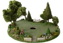 Miniature landscaping in 1:48 / Quarter scale modelling at its best!