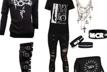 Band Merch, My Style / Clothes I want!  My Polyvore: http://music-is-my-life-1019.polyvore.com/ / by i-like-bands💀