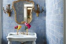 Tiny Bathroom Spaces / Ideas for laying out and remodeling small bathrooms.