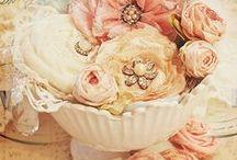 hacer flores de tela / Manualidades / by Angela Estorch