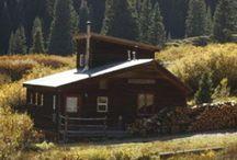 Artist Cabin Colorado / The Artist Cabin rental on Red Mountain Pass in Colorado