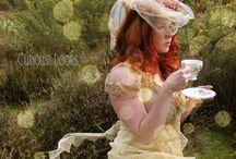GLORIA'S DREAMY TEA PARTY FASHIONS / SHABBY CHIC....FLORALS...VINTAGE.... / by Gloria Hanna