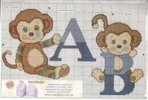 cross stitch abc-k