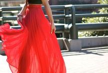 Maxi Skirts / 2016 Womens Winter Spring Summer Fall Fashion Reviews Trends Casual Outfits Street Style Clothing Shoes Dresses Jeans Sweaters Jewelry Work Inspiration Maxi Skirts
