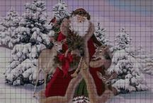cross stitch christmas 2
