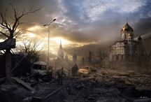 """""""Near the end"""": Story telling... / A post-apocalyptic story we can tell together..."""