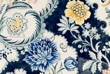 Timeless: Floral & Fromental / Floral print patterns and designs in fashion, wall-coverings, wallpaper, fabrics, home textiles, pillows, upholstery, and room decor... / by Hadley Court