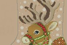 cross stitch christmas 3