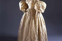 1830s wedding dresses