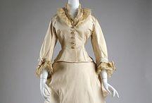 1870s wedding dresses