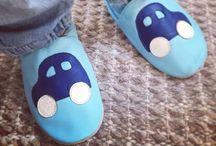 Våre Skinntøfler | Our Leathershoes / Skinntøfler til baby og barn | Soft leather shoes for babies and kids