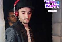 Tom Parker na Official Charts After Party em Surrey, na Inglaterra - 13 de novembro / Tom Parker se apresentou como DJ na se apresentando como DJ na Official Charts After Party em Surrey, na Inglaterra, no dia 13 de novembro.