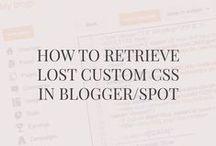 blogger/blogspot tutorials + tips / blogger, blogspot, google, tutorials, tips, blogging tips, blogspot tutorials, blogspot tips, blogger, wordpress, squarespace,