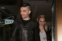 Tom Parker e Kelsey Hardwick no Jog-On to Cancer Part 4 Party em Londres, na Inglaterra - 7 de abril / Tom Parker e Kelsey Hardwick compareceram ao evento beneficente Jog-On to Cancer Part 4 Party em Londres, na Inglaterra, no dia 7 de abril.