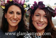 Floral Crown Workshop / Looking for a creative hen party? Glam Hatters travel nationwide bringing you #workshops for your #henparty