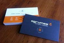 Business card / Jérémie Lacasse Graphiste / création conçu et réalisé par Jérémie Lacasse, directeur artistique chez Agrumes Extraits Créatifs.