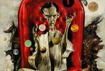 Art of Dave McKean / Awesome Dave McKean artwork... / by Paul Sunderland