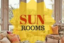 Sun Rooms / These are incredible sun rooms ideas.