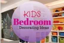 Kids Room Decorating Ideas / http://www.soniafigueroarealtor.com/ Here are a couple kids room decorating ideas.