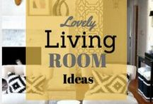 Living Rooms Ideas / Can't figure out what to do with your living room or need inspiration, check these out