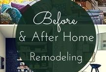Before and After Home Remodeling / http://www.soniafigueroarealtor.com check out these before and after remodels of different rooms from bathrooms to attics