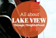 Lake View Neighborhood Chicago / Lake View is about  7 miles from the Loop. From Boystown to Wrigleyville, Community Area #6 is a vibrant community that boasts great restaurants, and nightlife.