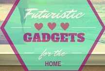 Futuristic Gadgets for the home / This board contains all the futuristic gadgets for the home. There not all gadgets some are super functional but yet very different