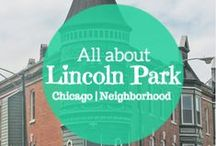 Lincoln Park Neighborhood Chicago / http://www.seesonia.com/ -  Beautiful Lincoln Park is north of downtown Chicago. It is a beautiful neighborhood located relatively close to the Lake Michigan bike path. Community area #07