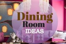 Dining Room Ideas / Artistic, classic, original and beautiful Dining Rooms