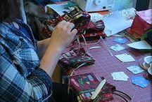 Handwerkliches / Projekte rund ums Thema Handarbeit DIY, basteln, häkeln, nähen, stricken, malen uvm.