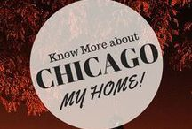 My Kind of HOME town Chicago / A board full of Chicago landmarks & buildings our wonderful city has to offer
