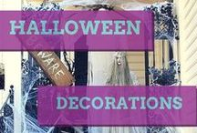 Boo! It's Halloween Decor Time / #halloween decor from doors to patios' and more! #soniafigueroarealtor