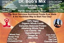 Dr. Bob's Superfood Baking Mixes / Easy to use Baking Mixes loaded with superfoods, protein powders and anti-inflammatories