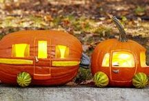 Pumpkin Carving Inspiration / Creative Halloween pumpkin carving ideas, mostly car related of course! ☺
