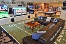 Football Man Cave / Every men's dream is a man cave dedicated to Football