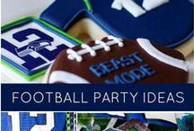Football Party Decoration / Do you love Football? Then you should have a party inspired by this great game
