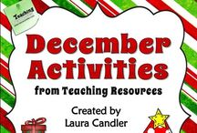 Teaching | Christmas activities