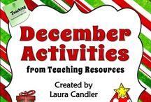 Teaching | Christmas activities