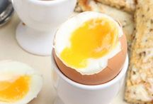 Let's crack eggs.... / The humble hard working,free range,organic egg is an impressive source of protein, B2,6 and 12. Plus vitamins A,D,E and K!